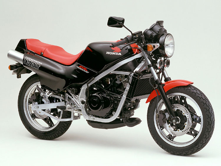 1984 Honda NS250F MC11 Black and Red